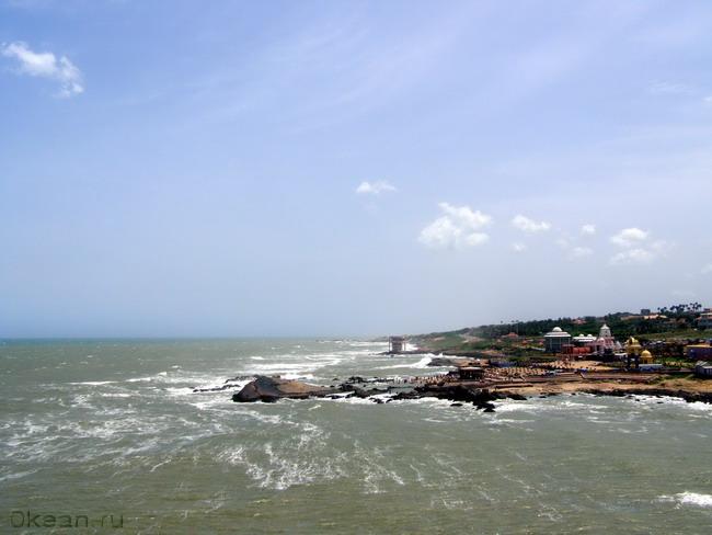 Каньякумари - самый южный мыс Индии