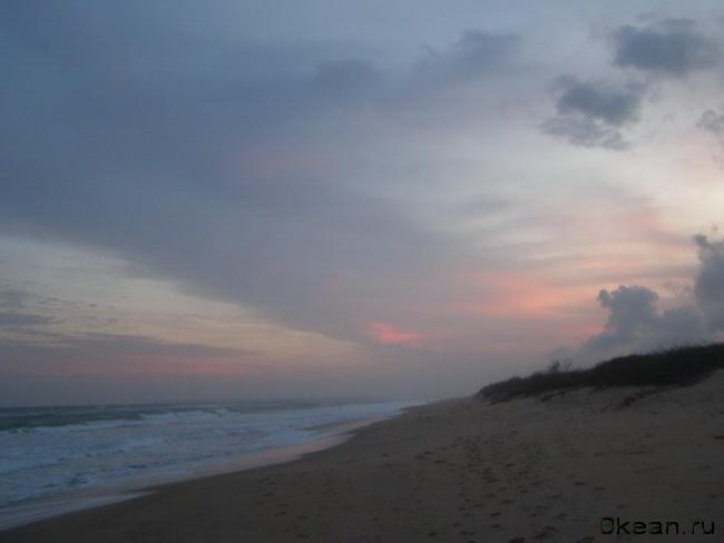 Небесный замок на берегу океана...