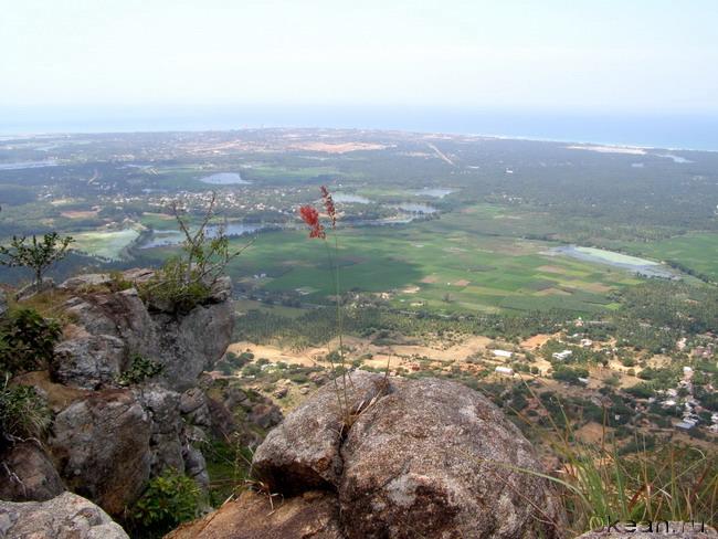 Каньякумари с горы Ханумана
